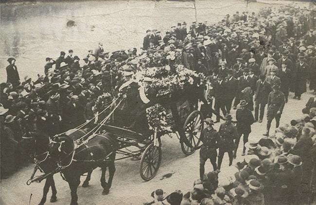 Mac Curtain Funeral