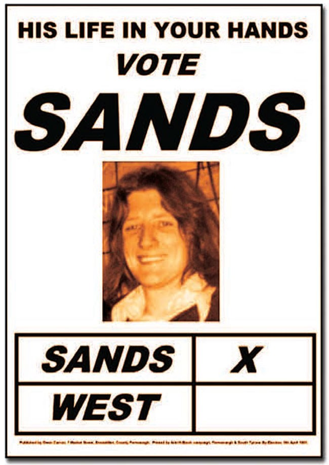 Bobby Sands Election Poster