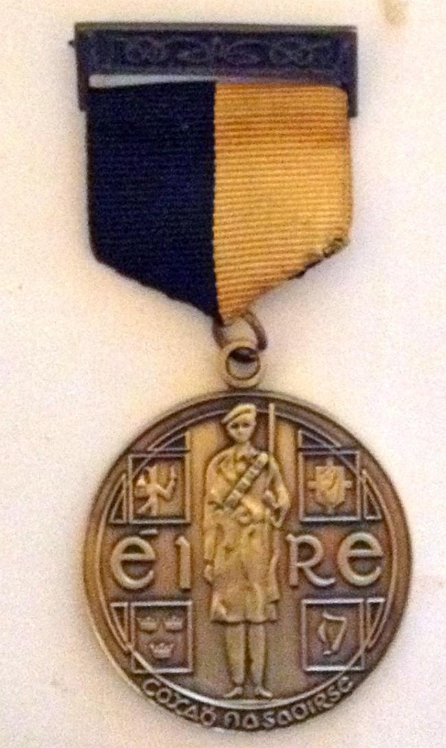 Tan War Medal