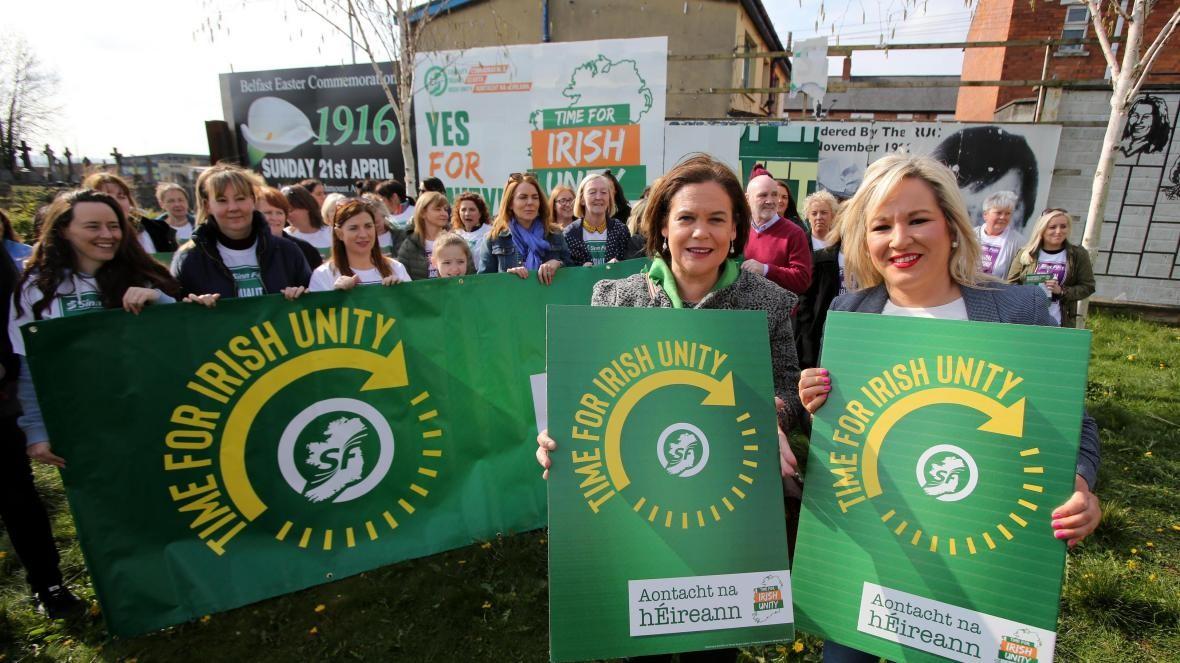 Irish Unity rally.