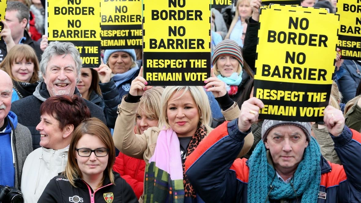 Anti-Brexit protest.