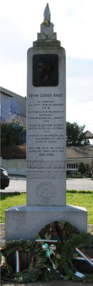 kevin_Barry_monument_Rathvilly_Carlow