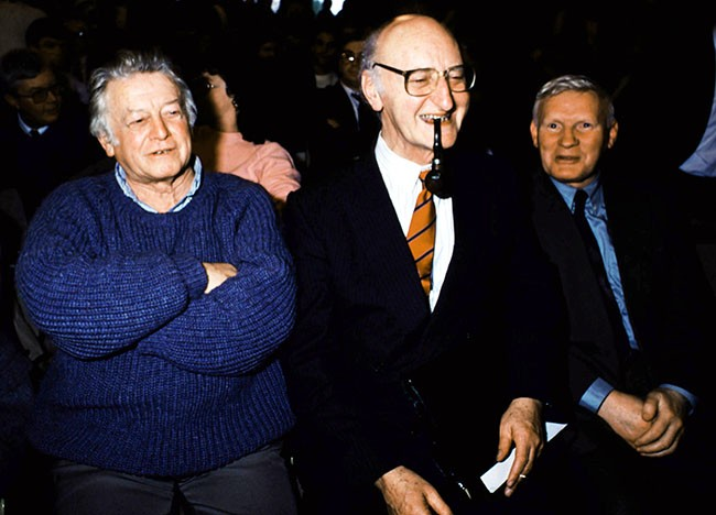 Cathal Goulding, Tomás Mac Giolla and Seán Garland