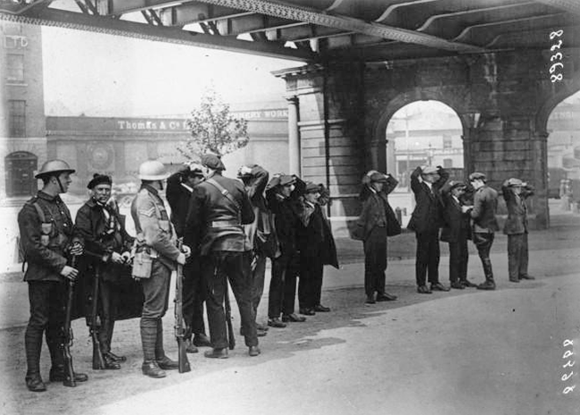 Custom House 1921 - arrests