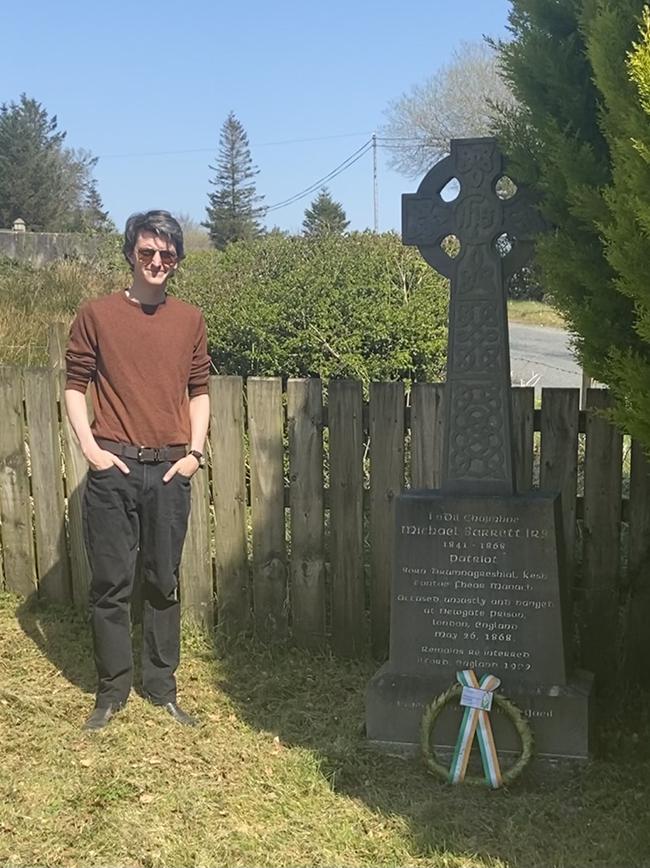Michael Barrett Monument in Montiagh near Ederney