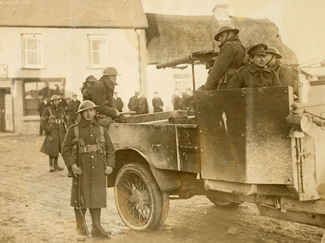 British Army in Cork 1921