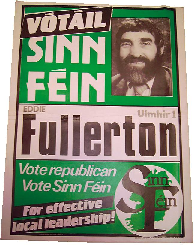 Fullerton election poster
