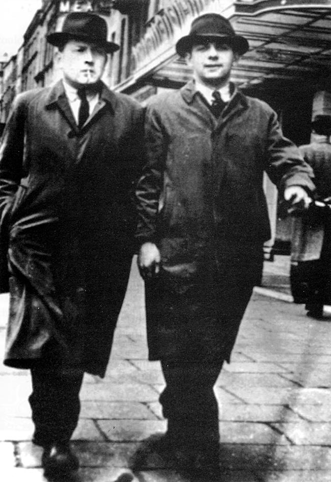 Sean McCaughey and Charlie McGlade