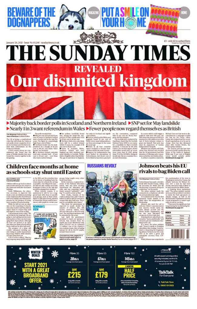 Sunday Times LucidTalk opinion poll