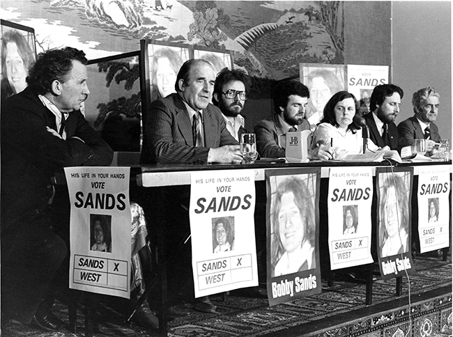 Sands election team