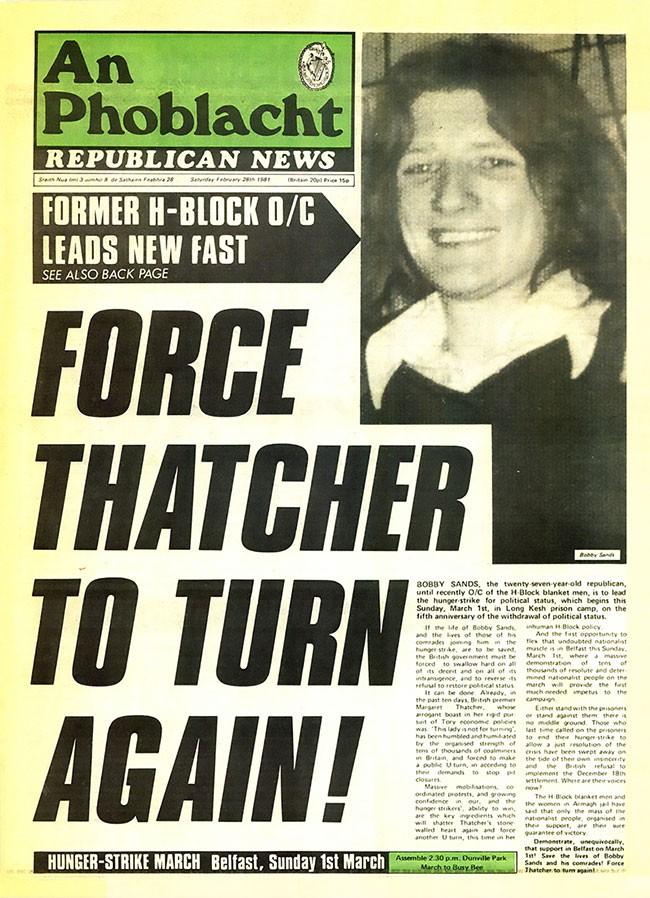 AP/RN start of 1981 hunger Strike