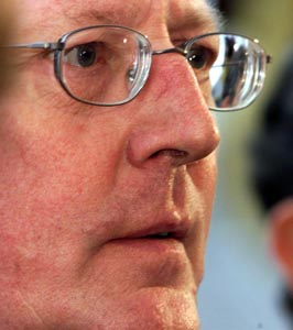Ulster Unionist leader David Trimble