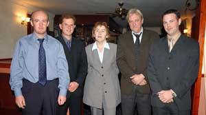 Wicklow candidates Eamonn Long, David Gahan, Marie Gavigan, Gerry O'Neill and John Brady