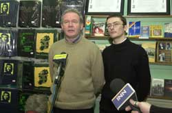 Martin McGuinness and David Cullinane