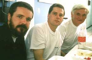 Niall Connolly, Martin McCauley and Jim Monaghan