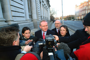 Sinn Féin Chief Negotiator Martin McGuinness
