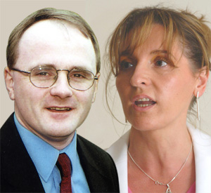 Barry McElduff & Martina Anderson