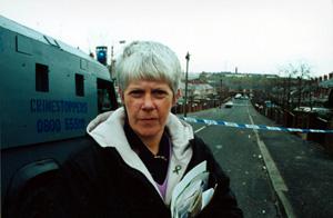 Sinn Féin Councillor Margaret McClenaghan fears more sectarian trouble in Ardoyne