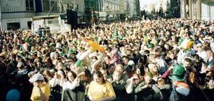 A section of the crowd