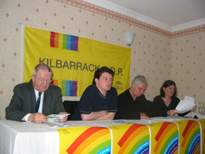 A press conference to launch the Campaign Against the Racist Referendum (CARR)