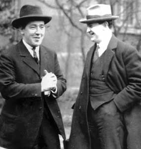 Harry Boland and Michael Collins