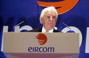 Tony O'Reilly addresses the recent Eircom AGM