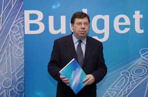 Brian Cowen on Budget Day