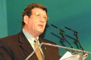 Sinn Féin Vice-President Pat Doherty