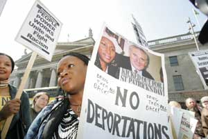 Last Saturday's protest against deportations