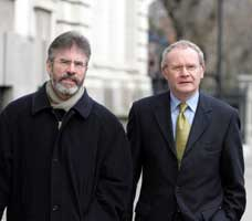 Gerry Adams and Martin McGuinness