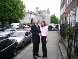 Martin McGuinness and Kathleen Funchion