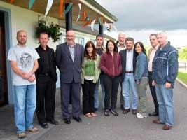 Sinn Féin Dáil team meet in Monaghan