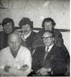 Joe Cahill with his republican comrades