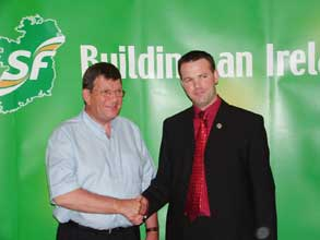 Cllr. John Brady the new Sinn Féin candidate for Wicklow