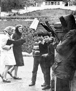 The IRA defending their communities in the 1970s
