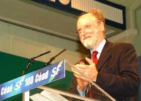 Francis Wurtz President of GUE-NGL at the Sinn Féin Ard Fheis