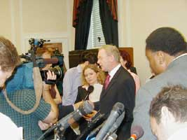 Martin McGuinness speaking in Washington