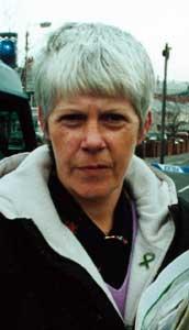 Sinn Féin councillor Margaret McClenaghan