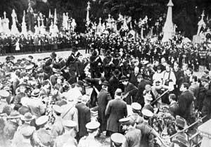 The landmark funeral of O'Dovovan Rossa