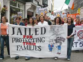 Over 1,000 marched in Galway last week