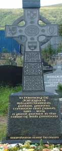 The grave of highly regarded republican activist Joe Cahill