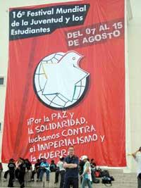World youth gather in caracas Venezuela