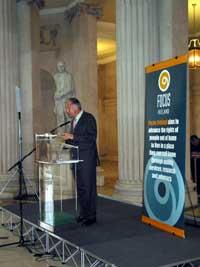 Focus Ireland chief executive Declan Jones