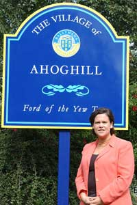 Mary Lou McDonald MEP visits Ahoghill
