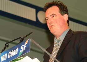 Sinn Féin mayor of Clones and Monaghan county councillor Pat Treanor