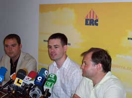 Pearse Doherty speaks in Mallorca