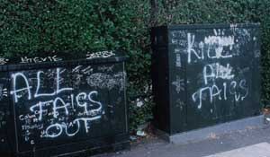 'Kill all Taigs' is the message to nationalists