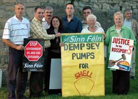 Sinn Féin spearhead Rossport protest in Trim