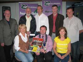Coiste members and guests at the Coiste Scoil Samhraidh
