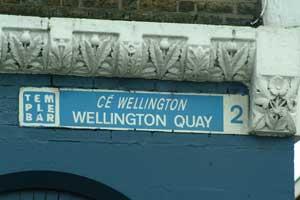 Céibh i mBaile Átha Cliath ainmnithe i ndiaidh Wellington